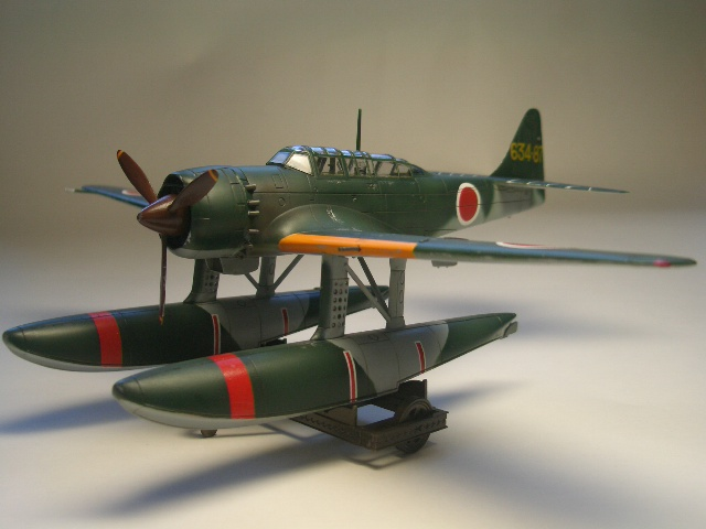 水上偵察機 「瑞雲」 (E16A) 09