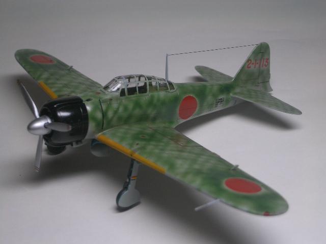 零戦21型 09
