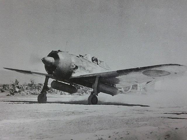 一式戦闘機 隼Ⅰ型 実写真