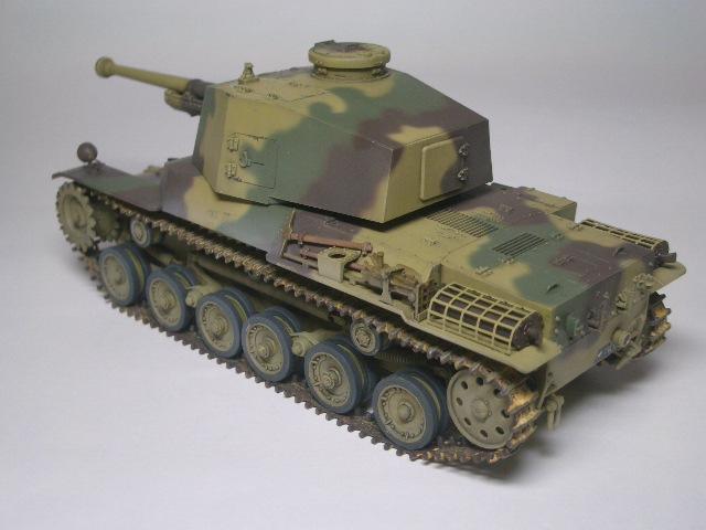 三式中戦車「チヌ」03