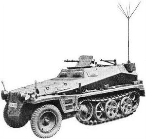 Sdkfz250/5 Alte
