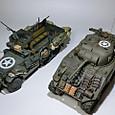 M4(初期型) & M3A1 02