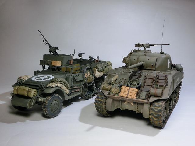 M4(初期型) & M3A1 01