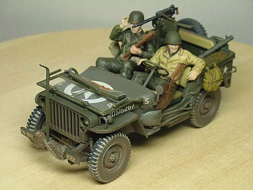 タミヤ Willys MB jeep
