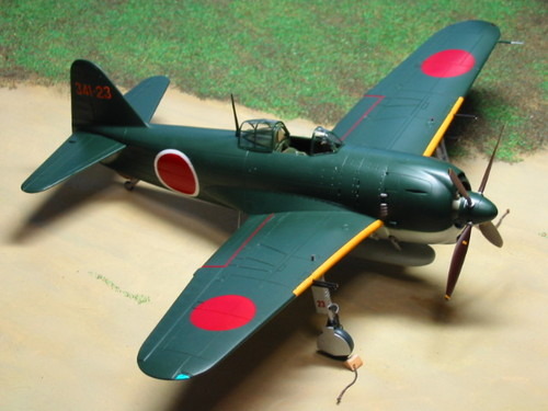 局地戦闘機 紫電11型甲