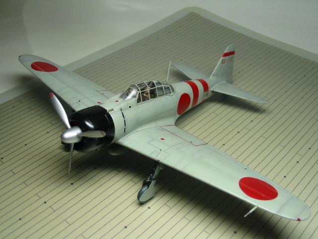 零戦21型 01