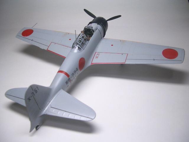 零式艦上戦闘機32型 04