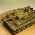 タミヤ1/48 タイガーⅠ初期生産型 09