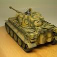 タミヤ1/48 タイガーⅠ初期生産型 02
