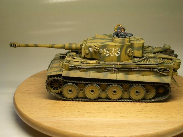 タミヤ1/48 タイガーⅠ初期生産型 04