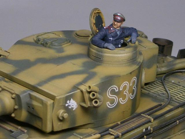タミヤ1/48 タイガーⅠ初期生産型 05