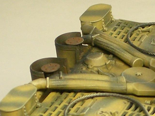 タミヤ1/48 タイガーⅠ初期生産型 07
