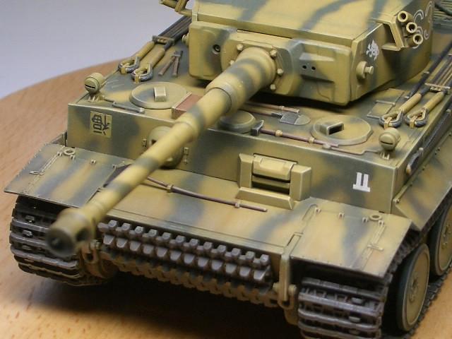 タミヤ1/48 タイガーⅠ初期生産型 08
