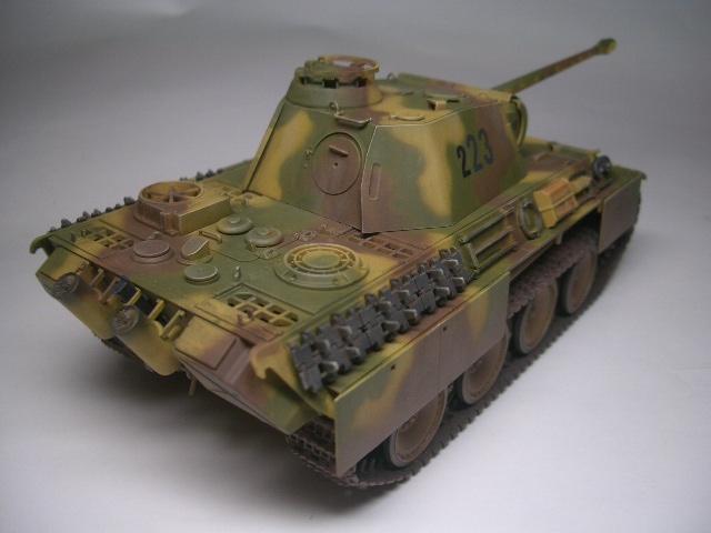 タミヤ1/48 パンサーG 05
