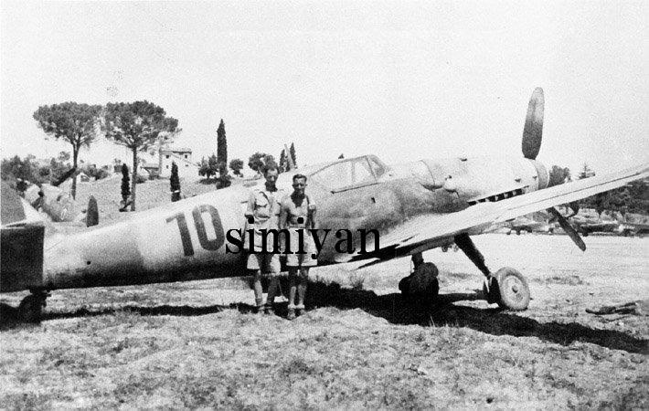 Bf109G-14 クロアチア独立国空軍