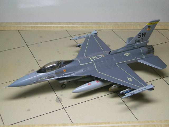 F-16C(ブロック25) 09