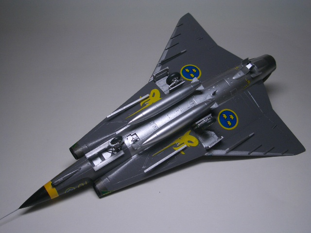 Saab J-35J ドラケン 07