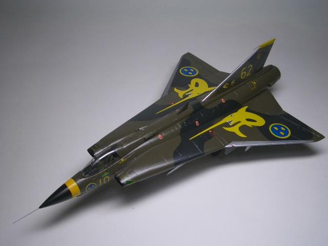 Saab J-35J ドラケン 08