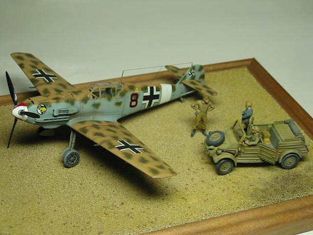 2/JG27 Bf109E-4Trop Summer 1941 NorthAfrica 07