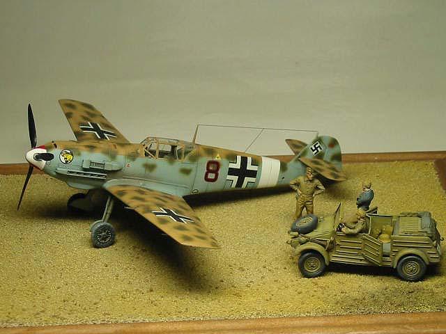 2/JG27 Bf109E-4Trop Summer 1941 NorthAfrica 05