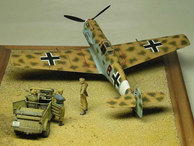 2/JG27 Bf109E-4Trop Summer 1941 NorthAfrica 03