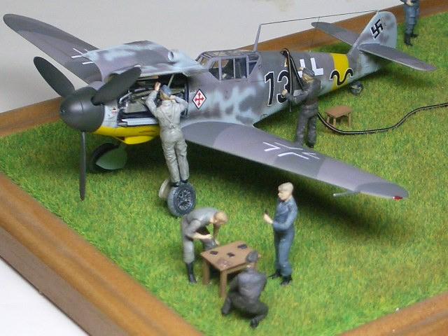 Bf109G-2 ギュンター・ラル 1943 Russia 02