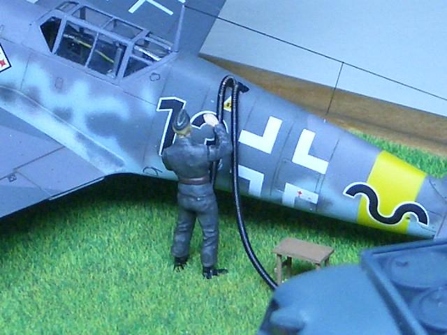 Bf109G-2 ギュンター・ラル 1943 Russia 04