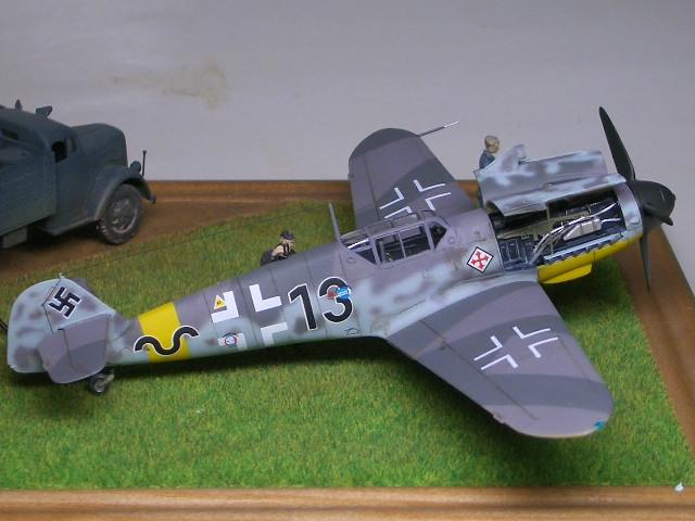 Bf109G-2 ギュンター・ラル 1943 Russia 07