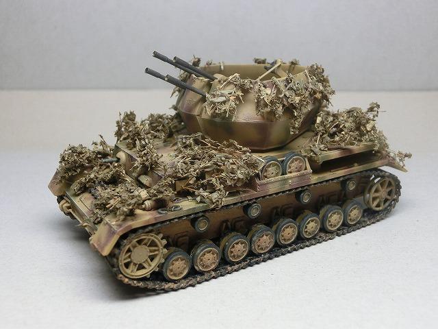 IV号対空戦車ヴィルベルヴィント カモフラージュ 02
