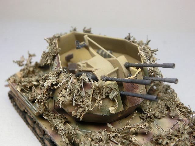 IV号対空戦車ヴィルベルヴィント カモフラージュ 01