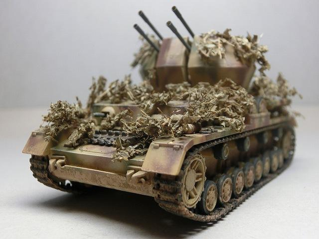 IV号対空戦車ヴィルベルヴィント カモフラージュ 10