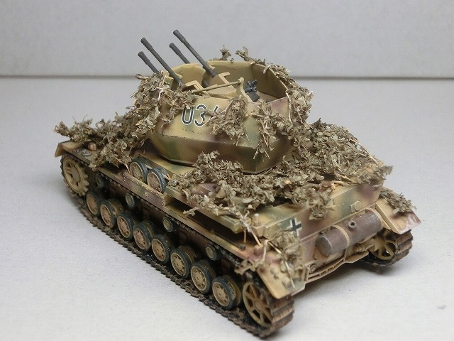 IV号対空戦車ヴィルベルヴィント カモフラージュ 07