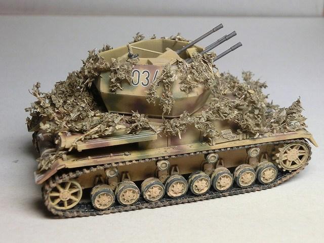 IV号対空戦車ヴィルベルヴィント カモフラージュ 06