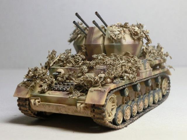 IV号対空戦車ヴィルベルヴィント カモフラージュ 04