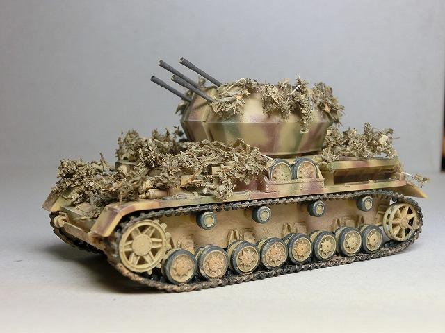 IV号対空戦車ヴィルベルヴィント カモフラージュ 03
