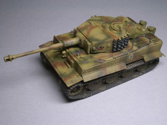 フジミ1/76 タイガーⅠ後期型 01