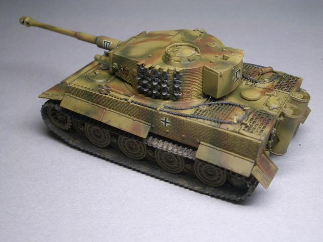 フジミ1/76 タイガーⅠ後期型 02