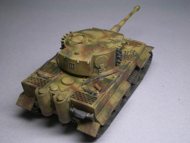 フジミ1/76 タイガーⅠ後期型 03