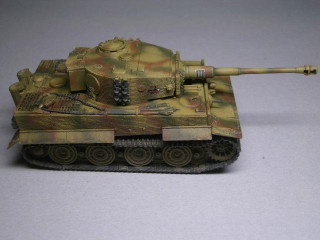 フジミ1/76 タイガーⅠ後期型 04