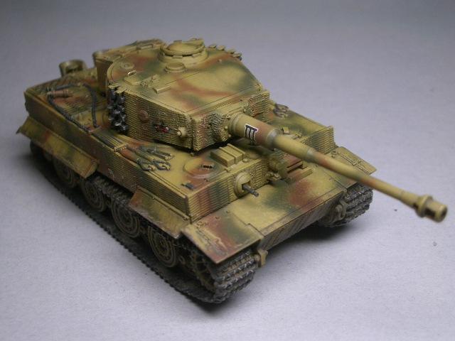 フジミ1/76 タイガーⅠ後期型 05