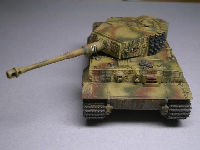 フジミ1/76 タイガーⅠ後期型 06