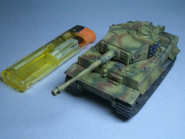 フジミ1/76 タイガーⅠ後期型 07
