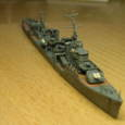 日本海軍甲型駆逐艦 夕雲型 朝霜09