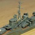日本海軍甲型駆逐艦 夕雲型 朝霜02