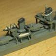 日本海軍甲型駆逐艦 夕雲型 朝霜07