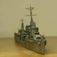 日本海軍甲型駆逐艦 夕雲型 朝霜16