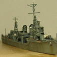 日本海軍甲型駆逐艦 夕雲型 朝霜17