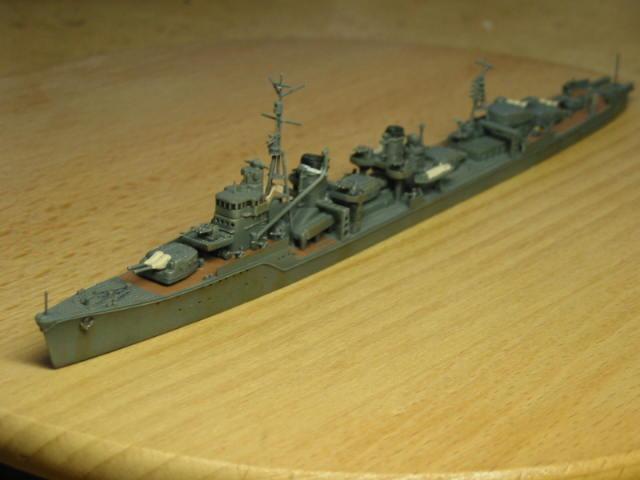 日本海軍甲型駆逐艦 夕雲型 朝霜01