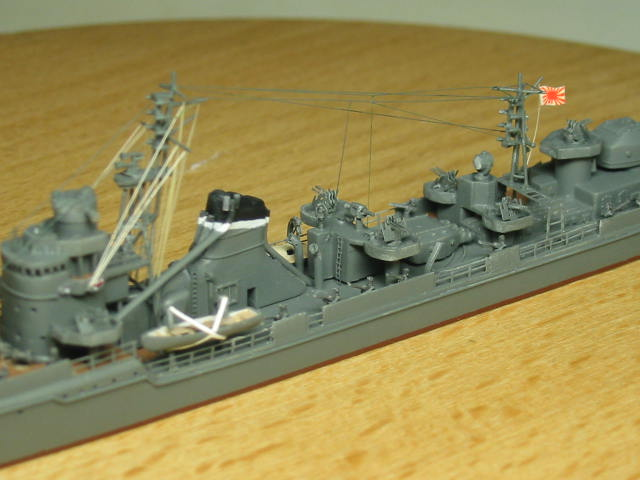 乙型駆逐艦(防空駆逐艦)秋月型 冬月 04