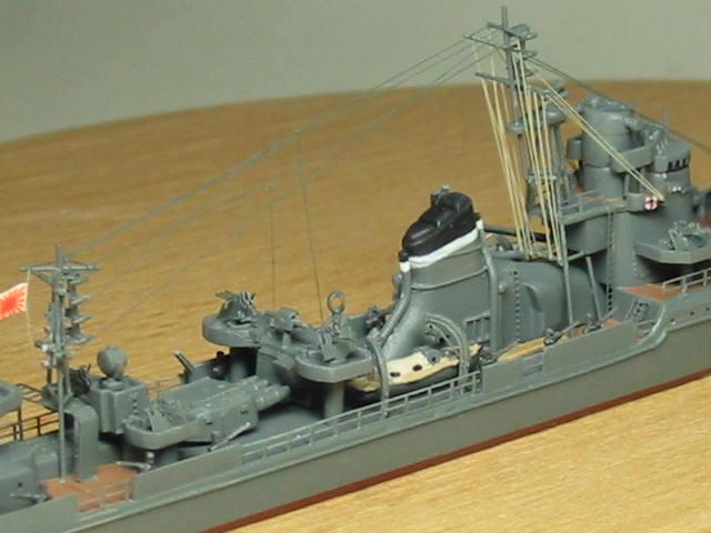 乙型駆逐艦(防空駆逐艦)秋月型 冬月 07